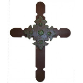 Iron Rustic Cross Old World Western Medieval