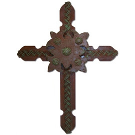 Iron Cross Rustic Old World Western Medieval