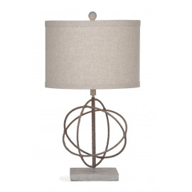 Rope Colored Intersecting Circles Table Lamp