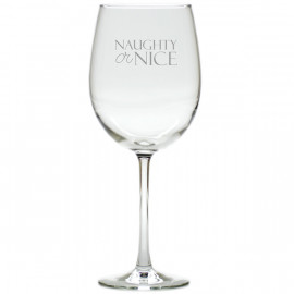 Wine Glasses Set of 8 Naughty or Nice