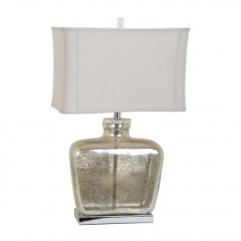 Mercury Glass Perfume Look Table Lamp