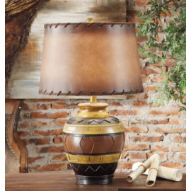 Western Style Pottery Table Lamp