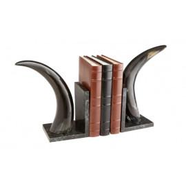 Elegant Horn Bookends