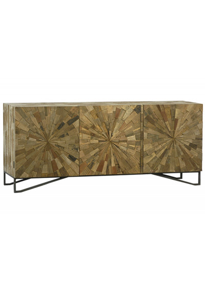 Sun Design Reclaimed Wood Sideboard Cabinet