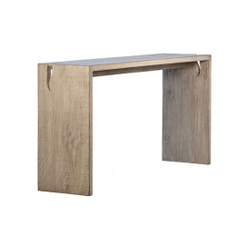 Reclaimed Pine Driftwood Look Console Table