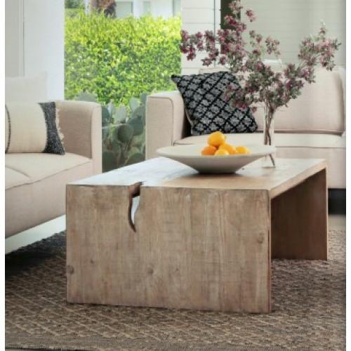 Reclaimed Pine Driftwood Look Coffee Table