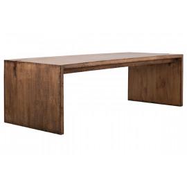 Reclaimed Pine Driftwood Look Medium Finish EXTRA Long Dining Table