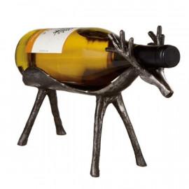 Cast Iron Deer Wine Holder