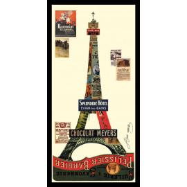 Collage Art - Eiffel Tower