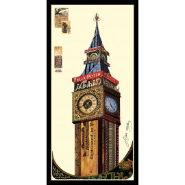 Collage Art - Tower of Big Ben