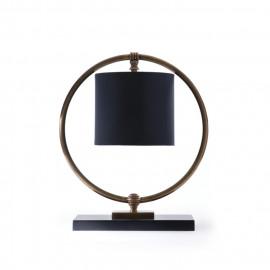 Brass Hoop Lamp