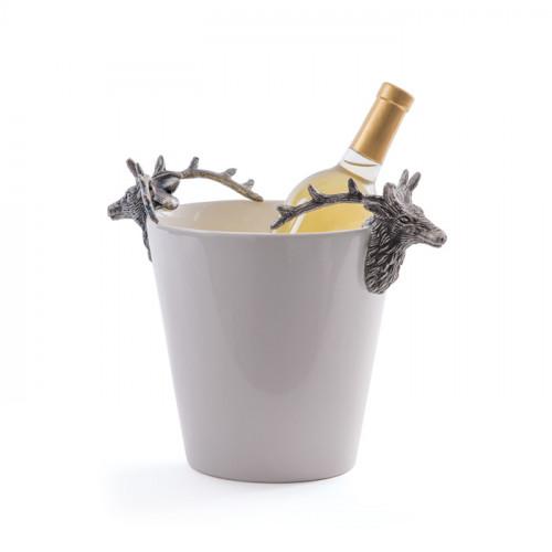 Deer Antler Wine Cooler Bucket