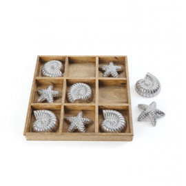 Shells & Starfish Tic Tac Toe Game