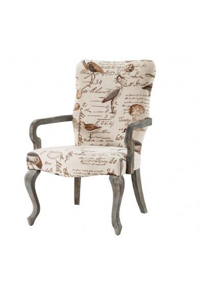 Bird Motif Arm Chair