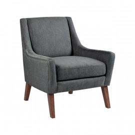 Grey Sleek Contemporary Modern Lounge Chair