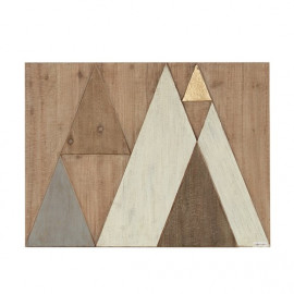 Geometric Wooden Wall Art