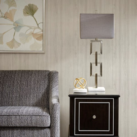 Silver Metal Link Chain industrial Modern Table Lamp