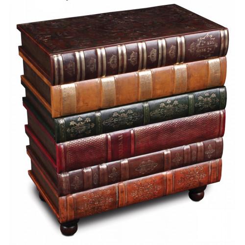 Stack of Books Elegant SideTable