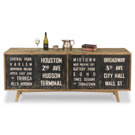 New York City Wood Sideboard