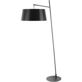 Black Metal Mid Century Simplistic Style Floor Lamp