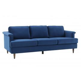 Royal Blue Velvet Cosmopolitan Sofa