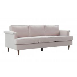 Light Blush Velvet Cosmopolitan Sofa