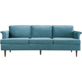 Light Blue Velvet Cosmopolitan Sofa