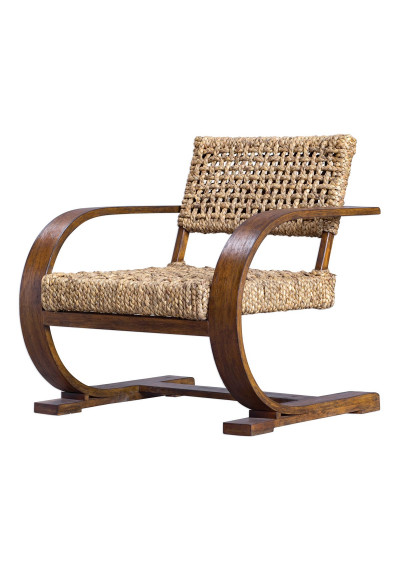 Modern Bahama's Woven Casual Accent Chair