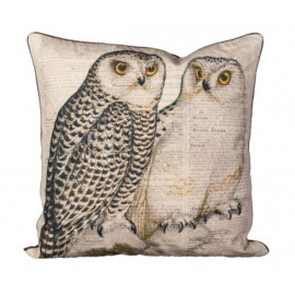Graphics Pillow Collection - Double Owls