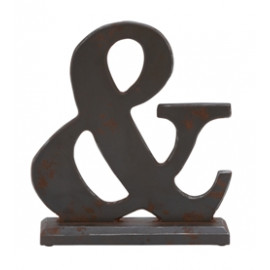 Wood & Ampersand Symbol Table Top Decor