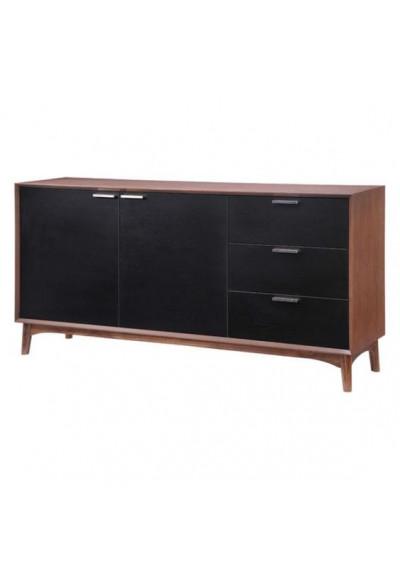 Walnut Mid-Century Buffet Sideboard