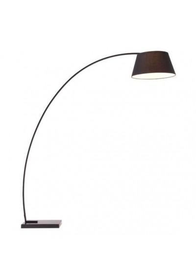 Black Modern Marble Base Floor Lamp