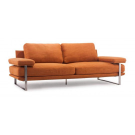 Draper Orange Sofa