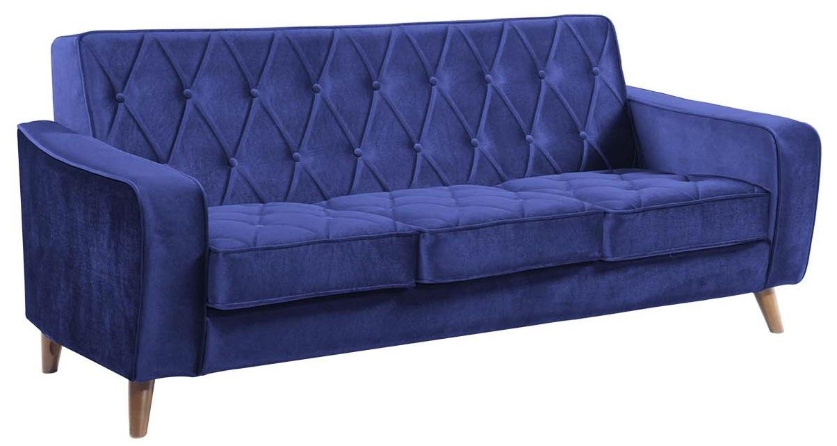 Royal Blue Velvet Sofa Home