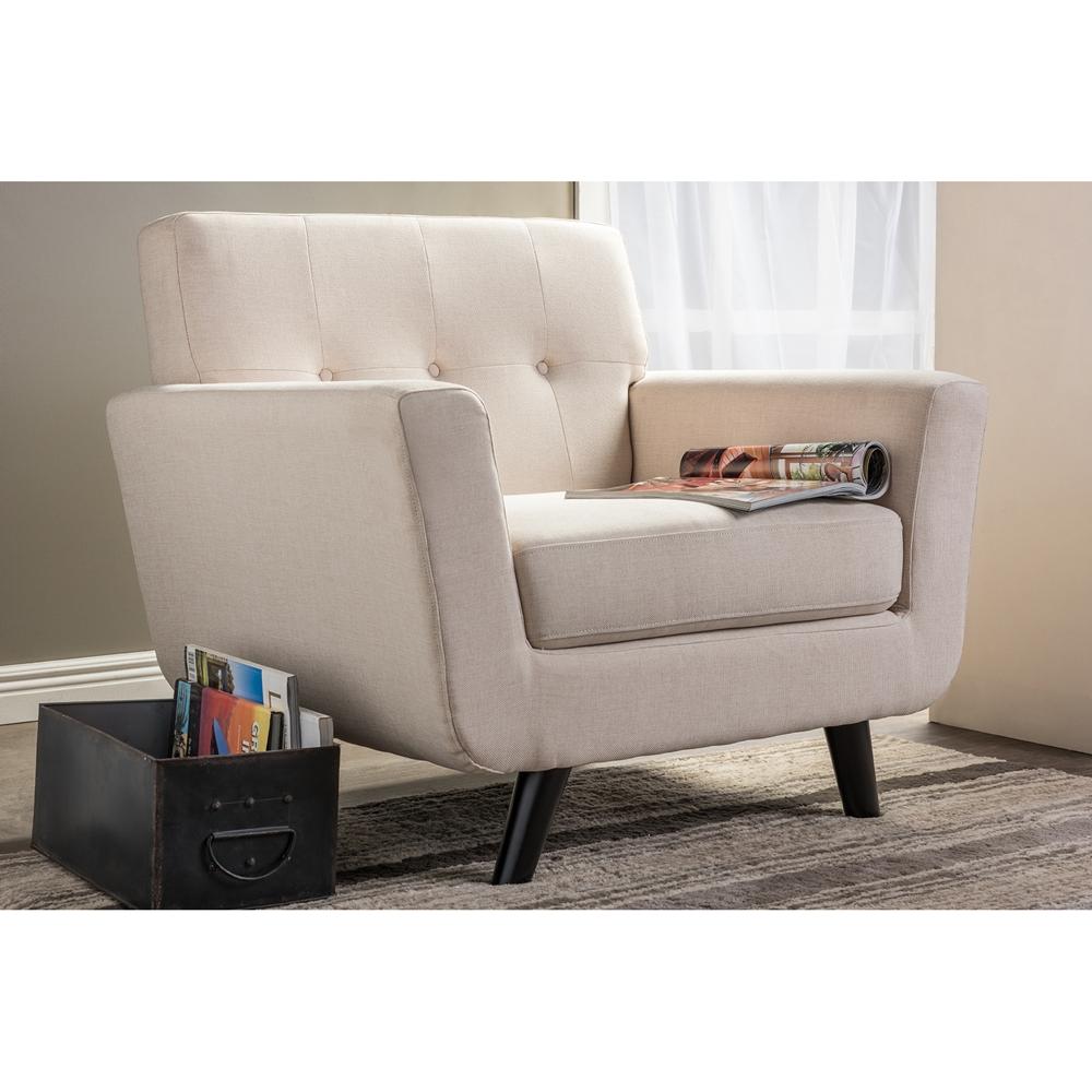 Artistically Modern Chrome Amp Dark Brown Leather Accent Chair